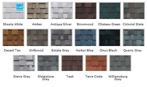 Shingle Styles Amp Colors